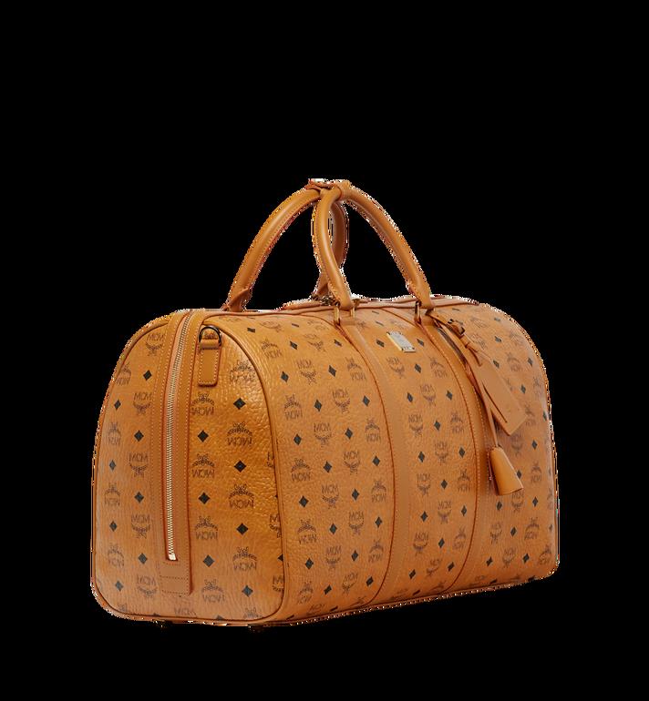MCM Traveler Weekender-Tasche in Visetos MUV7AVY02CO001 AlternateView2