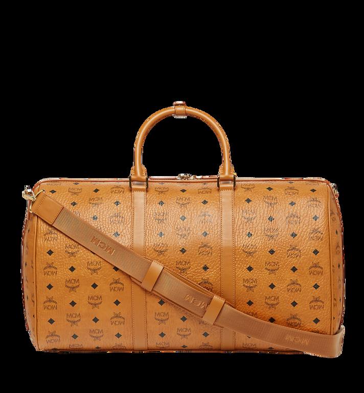 MCM Traveler Weekender-Tasche in Visetos MUV7AVY02CO001 AlternateView4