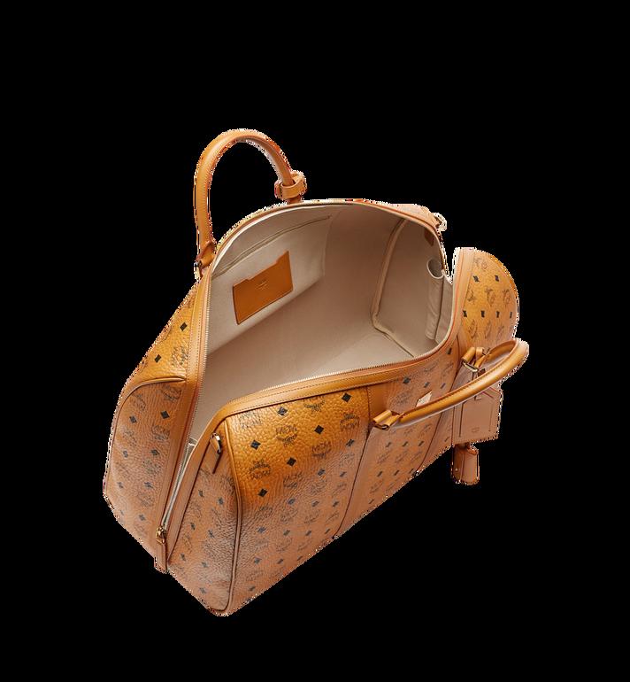 MCM Traveler Weekender-Tasche in Visetos MUV7AVY02CO001 AlternateView5
