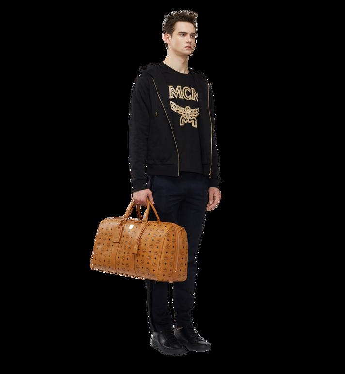 MCM Traveler Weekender-Tasche in Visetos MUV7AVY02CO001 AlternateView6