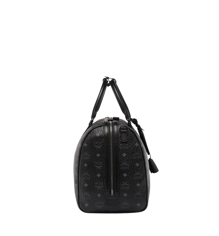 MCM Traveler Weekender-Tasche in Visetos MUV7AVY03BK001 AlternateView4