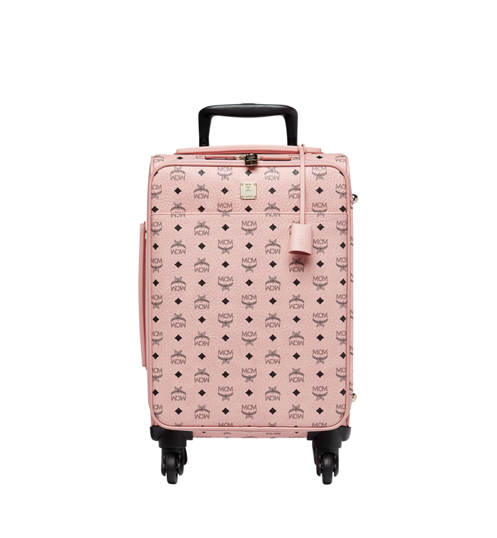 MCM Traveler Cabin Trolley in Visetos MUV7AVY04PZ001 AlternateView