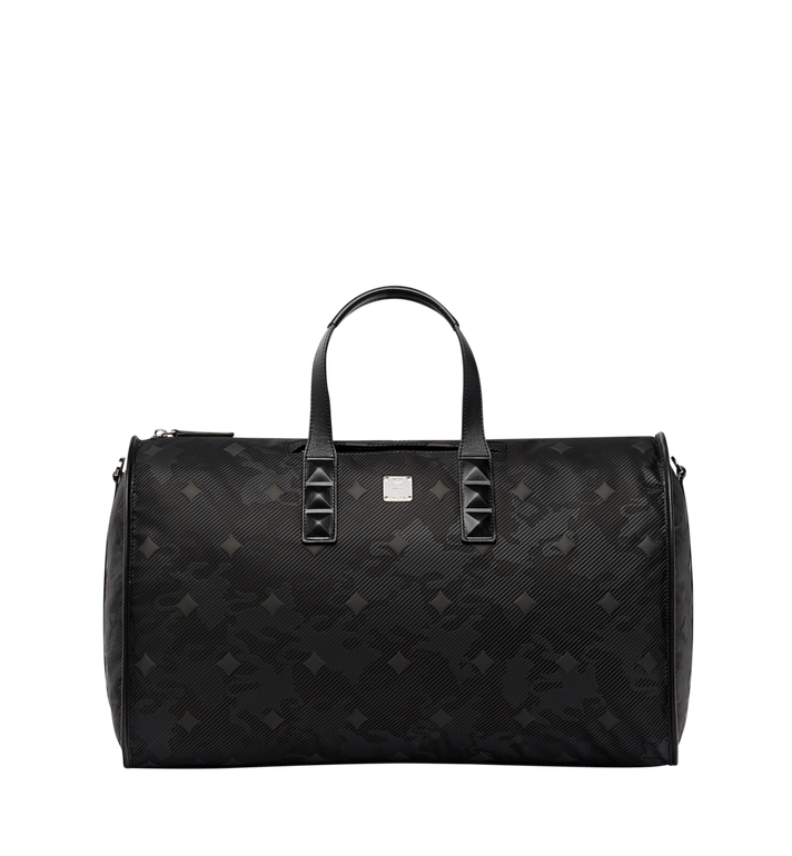 MCM Dieter Weekender in Textured Nylon MUV8SDT75BK001 AlternateView
