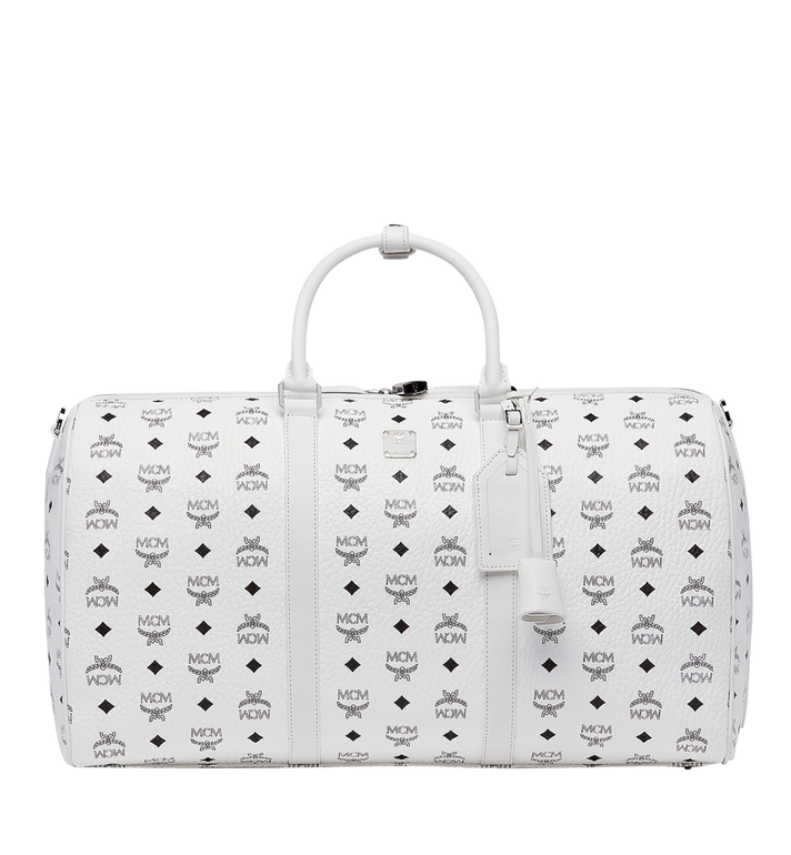 MCM Sac week-end Traveler en Visetos MUV8SVY02WT001 AlternateView
