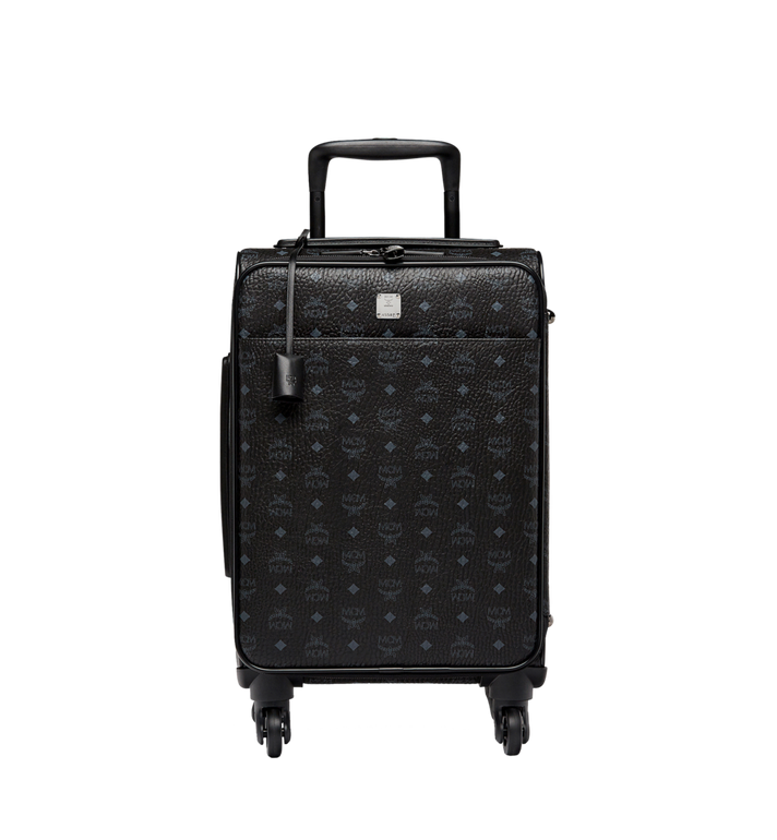MCM Traveler Cabin Trolley in Visetos MUV8SVY04BK001 AlternateView1