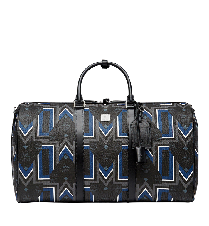 MCM Traveler Weekender-Tasche in Gunta Stripe Visetos MUV8SVY10BK001 AlternateView
