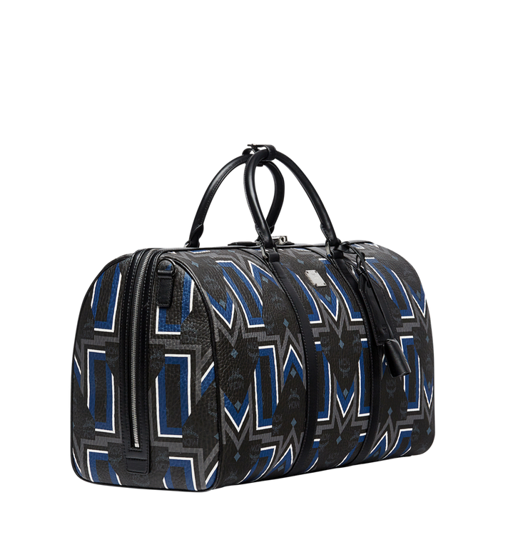 MCM Traveler Weekender-Tasche in Gunta Stripe Visetos MUV8SVY10BK001 AlternateView2