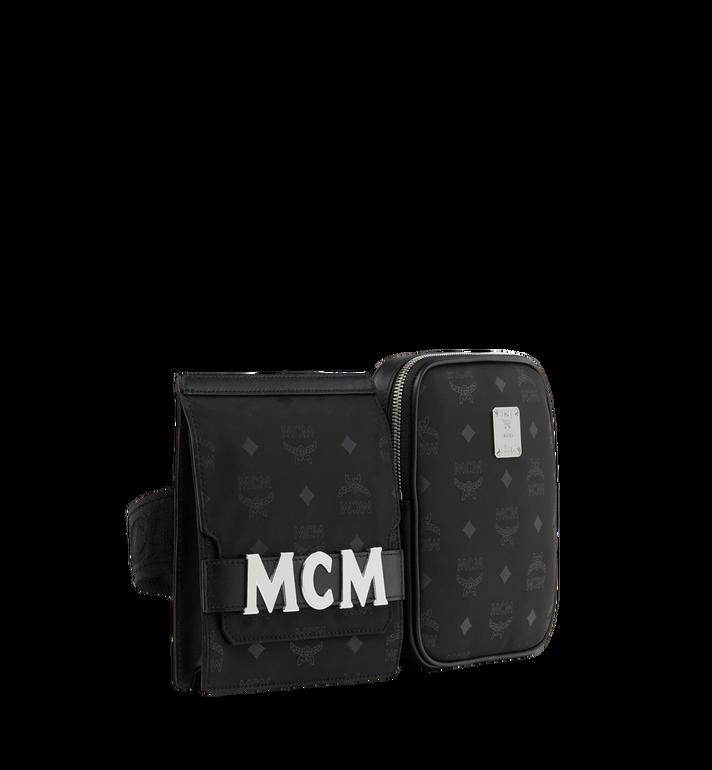 MCM Dieter Modular Belt Bag in Monogram Nylon MUZ8ADT22BK001 AlternateView2