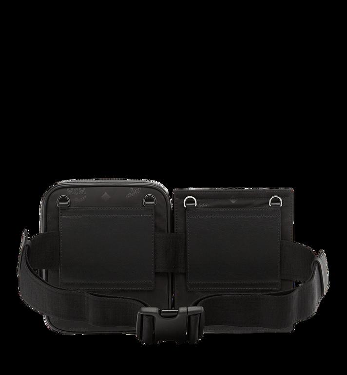 MCM Dieter Modular Belt Bag in Monogram Nylon MUZ8ADT22BK001 AlternateView4