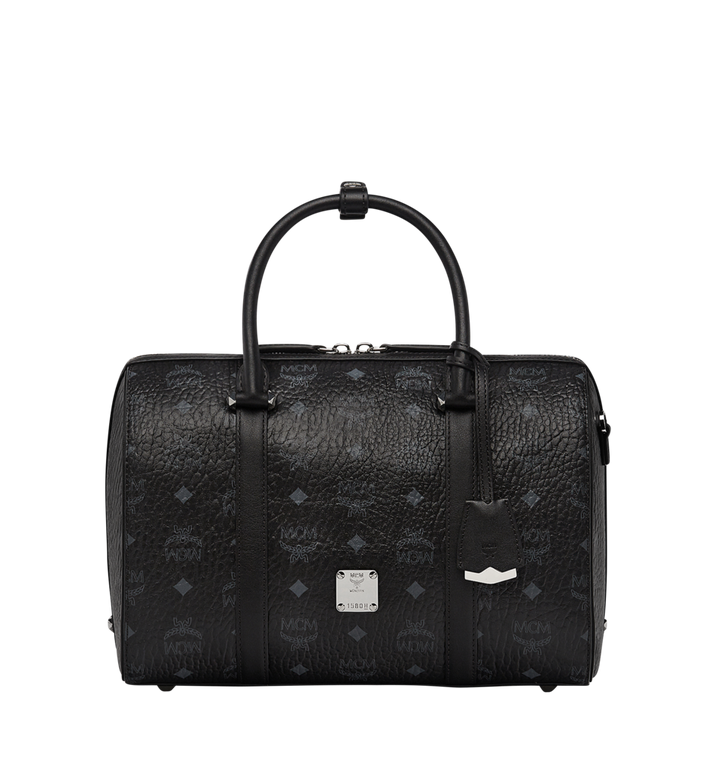 MCM Essential Boston in Visetos MWB7ASE68BK001 AlternateView