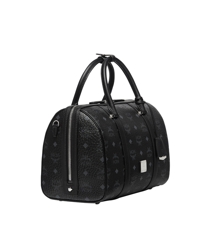 MCM Essential Boston in Visetos MWB7ASE68BK001 AlternateView2