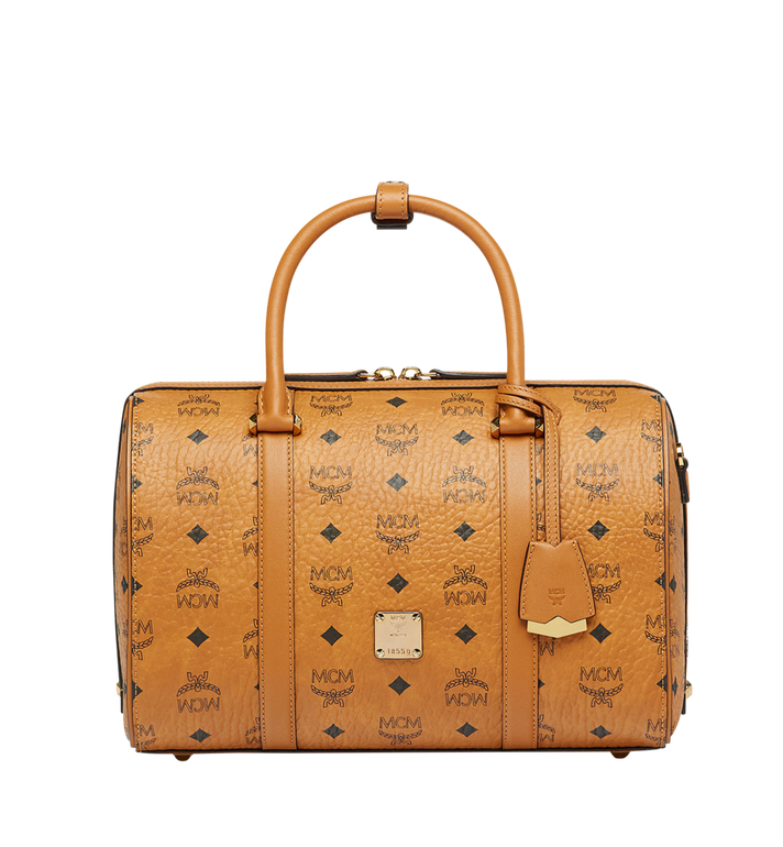 MCM Essential Boston in Visetos MWB7ASE68CO001 AlternateView1