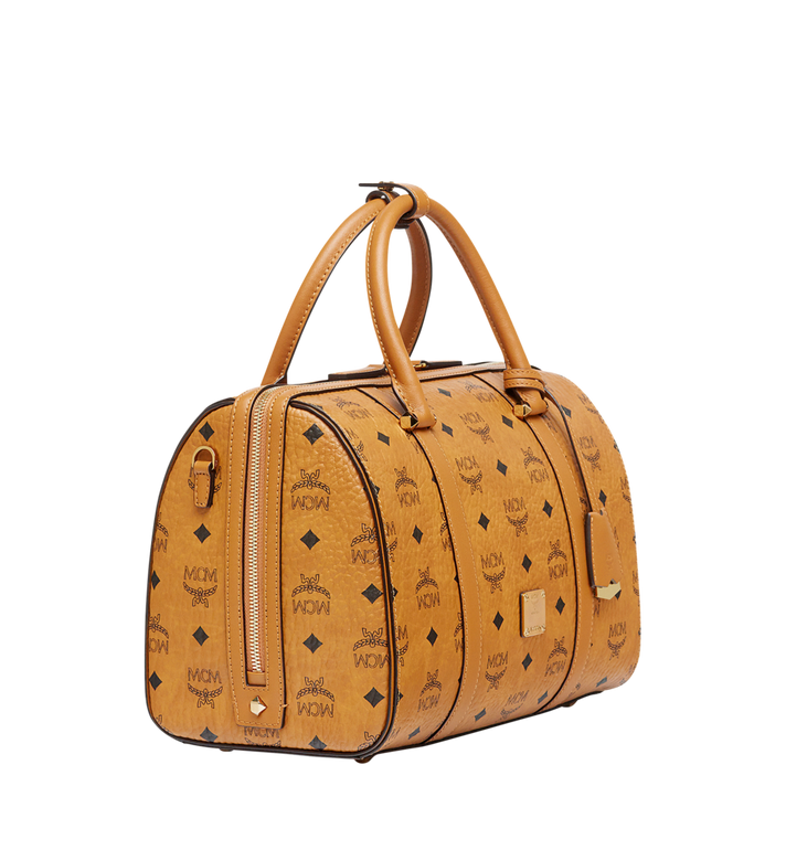 MCM Essential Boston in Visetos MWB7ASE68CO001 AlternateView2