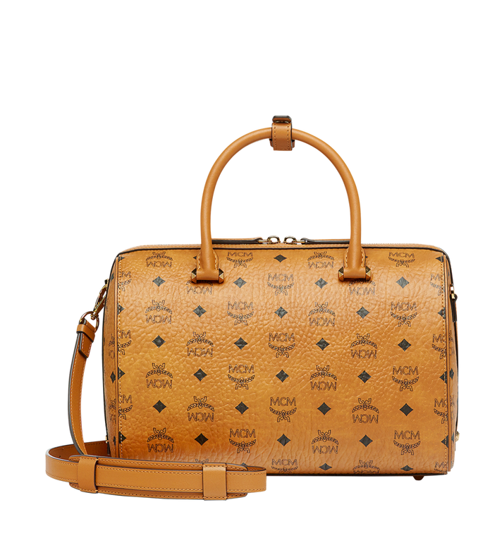 MCM Essential Boston in Visetos MWB7ASE68CO001 AlternateView4