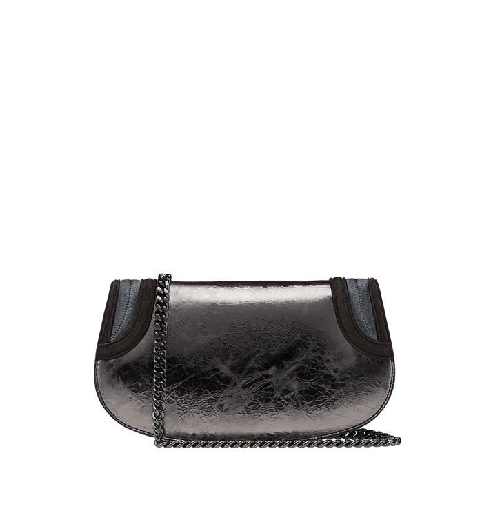 MCM Trisha Clutch in Foiled Leather MWC8ATS16SB001 AlternateView4
