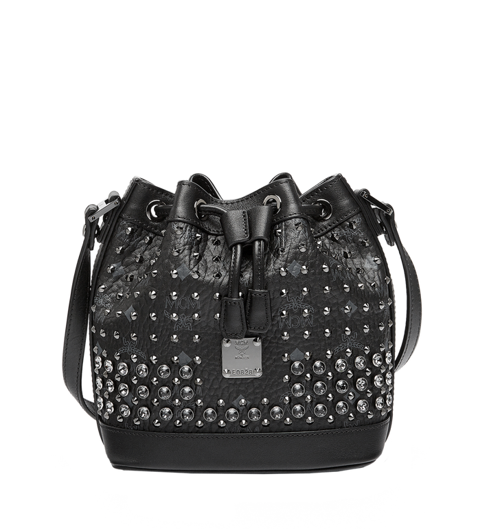 MCM Heritage Drawstring in Diamond Visetos MWD6SVI78BK001 AlternateView