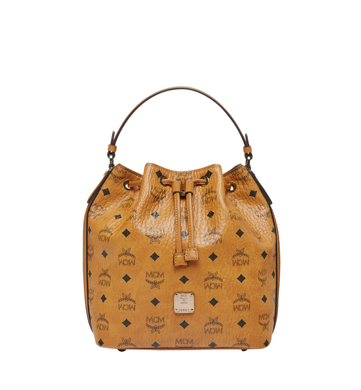 MCM Heritage Kordelzugtasche in Visetos MWD7ASE71CO001 AlternateView1