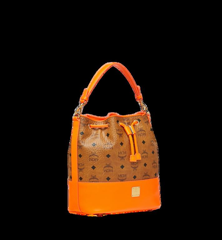 MCM Geonautic Drawstring Bag in Visetos AlternateView2