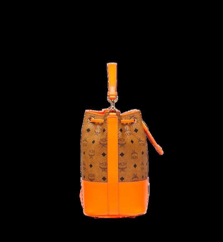 MCM Geonautic Drawstring Bag in Visetos AlternateView3