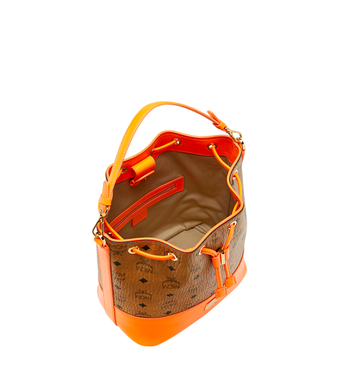 MCM Geonautic Drawstring Bag in Visetos AlternateView5
