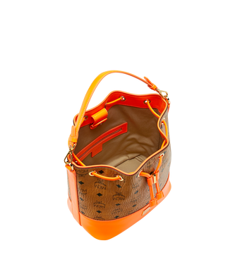 MCM Geonautic Kordelzug-Tasche in Visetos AlternateView5