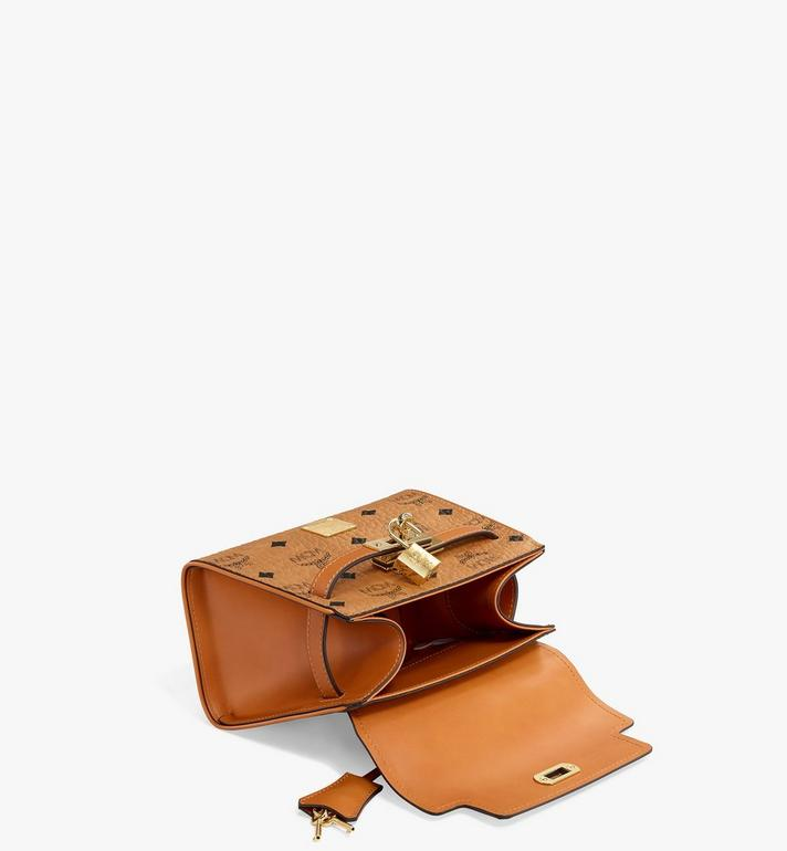 MCM Heritage Satchel in Visetos MWE6AVI63CO001 AlternateView3