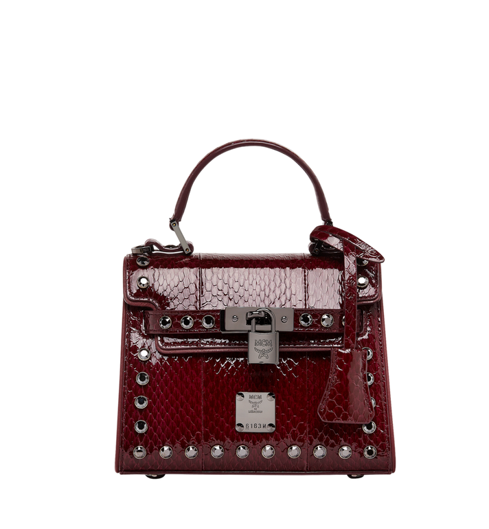 MCM Neo Heritage Satchel in Exotic Crystal Leather MWE8ANH63NZ001 AlternateView