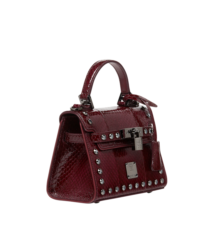 MCM Neo Heritage Satchel in Exotic Crystal Leather MWE8ANH63NZ001 AlternateView2