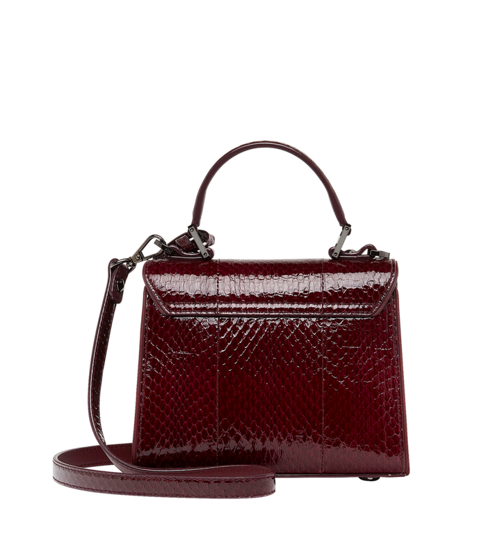 MCM Neo Heritage Satchel in Exotic Crystal Leather MWE8ANH63NZ001 AlternateView4