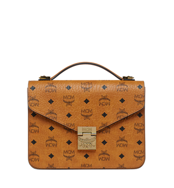 MCM Patricia Satchel in Visetos MWE8SPA42CO001 AlternateView