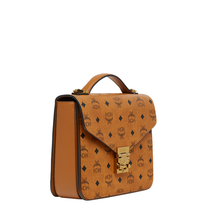 MCM Patricia Satchel in Visetos MWE8SPA42CO001 AlternateView2