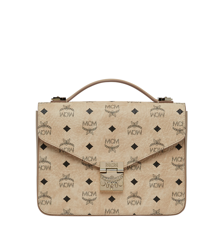 MCM Patricia Satchel in Visetos MWE8SPA42IG001 AlternateView1