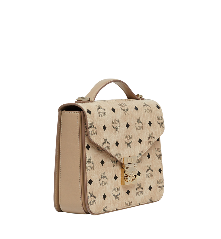 MCM Patricia Satchel in Visetos MWE8SPA42IG001 AlternateView2