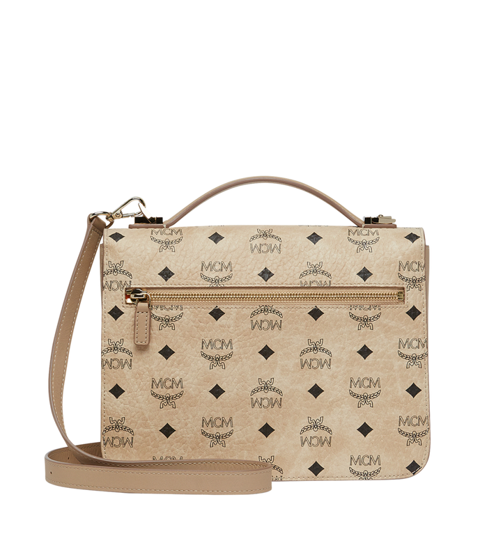 MCM Patricia Satchel in Visetos MWE8SPA42IG001 AlternateView4