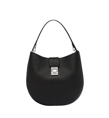 MCM Patricia Hobo in Grained Leather MWH7APA27BK001 AlternateView