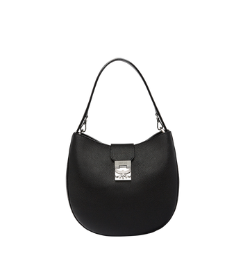 MCM Patricia Hobo in Grained Leather MWH7APA29BK001 AlternateView
