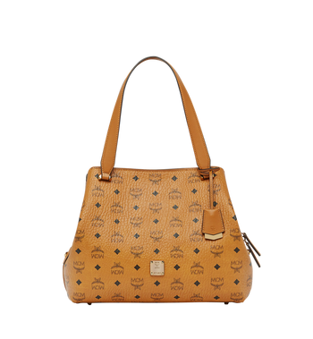 MCM Essential Hobo in Visetos MWH7ASE76CO001 AlternateView