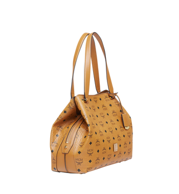 MCM Essential Hobo in Visetos MWH7ASE76CO001 AlternateView2