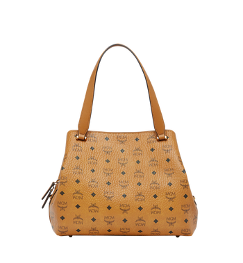 MCM Essential Hobo in Visetos MWH7ASE76CO001 AlternateView4
