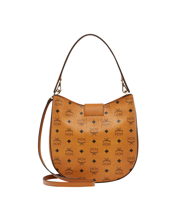 MCM Patricia Studded Outline Hobo in Visetos MWH8SPA44CO001 AlternateView4
