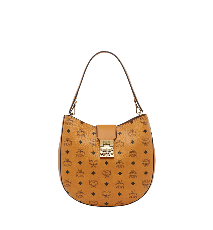 MCM Patricia Hobo in Visetos MWH8SPA45CO001 AlternateView