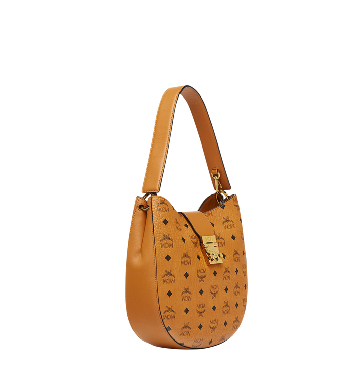 MCM Patricia Hobo in Visetos MWH8SPA45CO001 AlternateView2