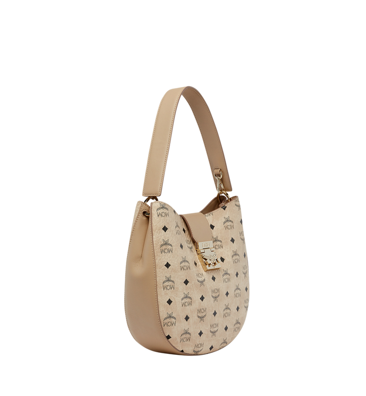 MCM Patricia Hobo in Visetos MWH8SPA45IG001 AlternateView2