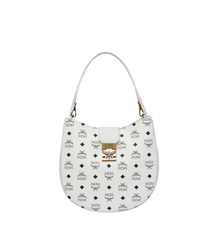 MCM Patricia Hobo in Visetos MWH8SPA45WT001 AlternateView
