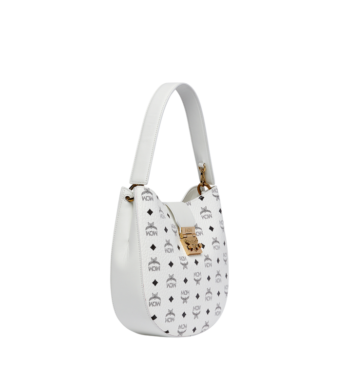 MCM Patricia Hobo in Visetos MWH8SPA45WT001 AlternateView2