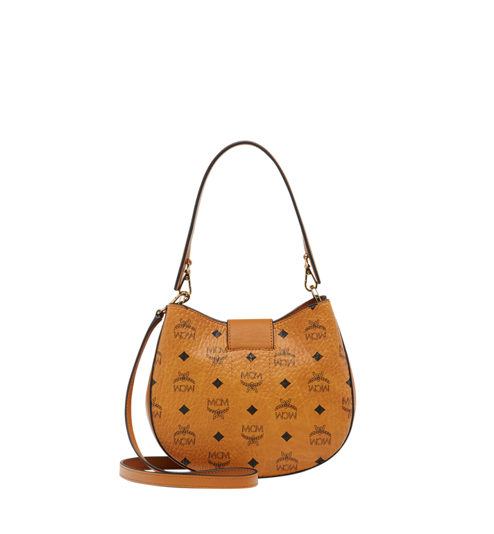 MCM Patricia Hobo in Visetos MWH8SPA46CO001 AlternateView4