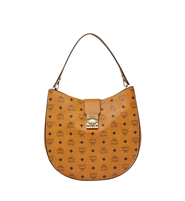 MCM Patricia Hobo in Visetos MWH8SPA47CO001 AlternateView