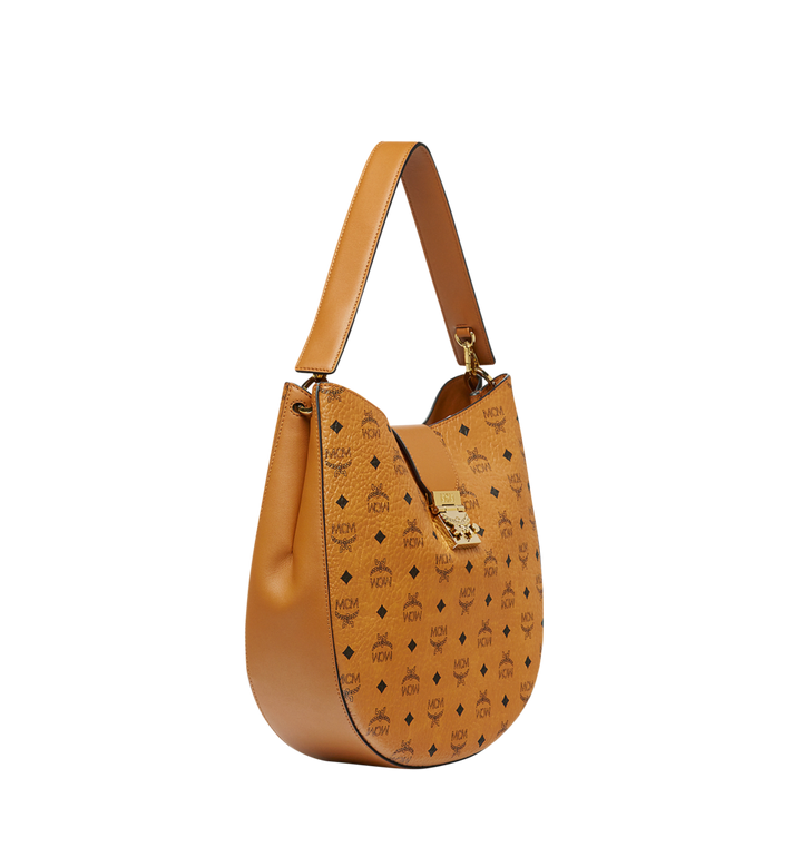 MCM Patricia Hobo in Visetos MWH8SPA47CO001 AlternateView2