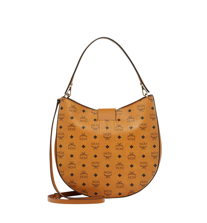 MCM Patricia Hobo in Visetos MWH8SPA47CO001 AlternateView4