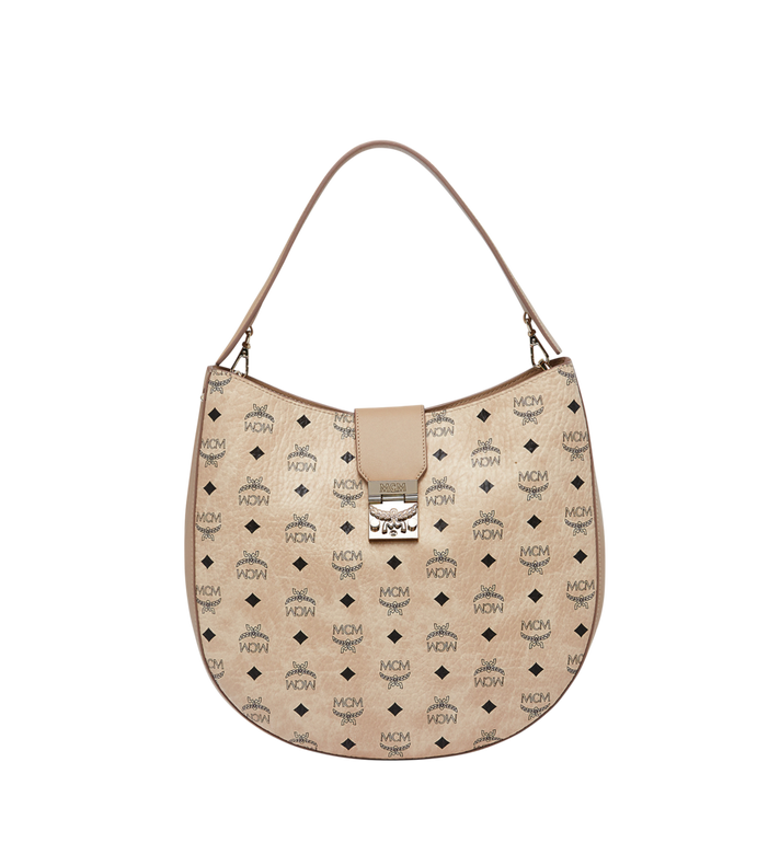MCM Patricia Hobo in Visetos MWH8SPA47IG001 AlternateView1